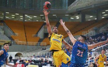 Basket League: Πέρασε στα ημιτελικά η ΑΕΚ, 88-75 τον Χολαρχό