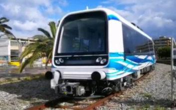 Μετρό Θεσσαλονίκης: Αυτός είναι ο πρώτος συρμός και έρχεται στην Ελλάδα