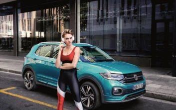 H Κάρα Ντελεβίν «πρέσβειρα» του VW T-Cross