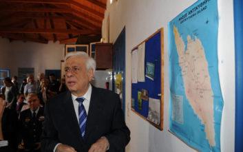 Μήνυμα Παυλόπουλου στην Τουρκία: Δεν θα αποδεχθούμε παραβιάσεις του Δικαίου της Θάλασσας