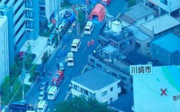 Αιματηρή επίθεση με μαχαίρι σε προάστιο του Τόκιο