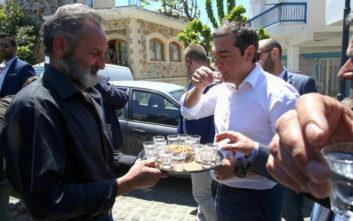 Αλέξης Τσίπρας: Η επίσκεψη στα Ανώγεια και η μαντινάδα για την τετραετία