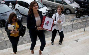 Δημοτικές εκλογές 2019: Η Νοτοπούλου κατέθεσε το ψηφοδέλτιο της παράταξης «Θεσσαλονίκη Μαζί»
