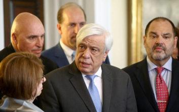 Μήνυμα Παυλόπουλου στην Τουρκία: Ελλάδα και Κύπρος μπορούν να επιβάλλουν το Διεθνές Δίκαιο