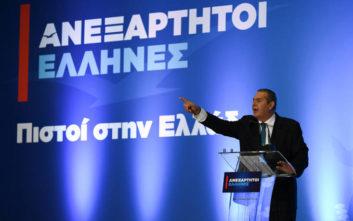 Καμμένος: Αλλάξαμε την Ελλάδα με έργα το ίδιο θα κάνουμε και στην Ευρώπη