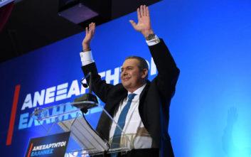 Ευρωεκλογές 2019: Ευχαριστίες Καμμένου σε υποψήφιους, συνεργάτες και εθελοντές