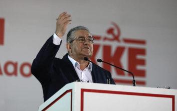 Κουτσούμπας για εθνικές εκλογές: Για να βγει δυνατός ο λαός χρειάζεται να ενισχυθεί το ΚΚΕ