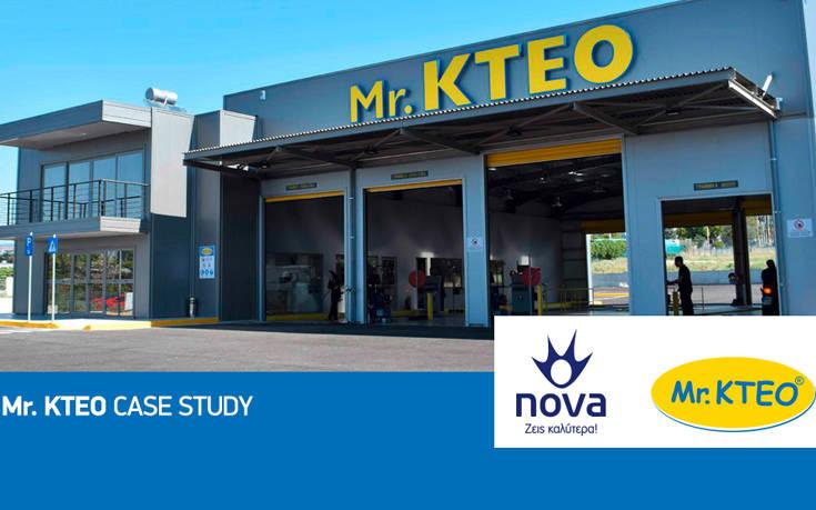 Συνεργασία Nova και Mr. KTEO