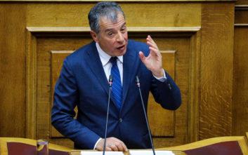 Θεοδωράκης: Το Ποτάμι δεν συμμετέχει και δεν θα συμβάλει στον θλιβερό κατήφορο