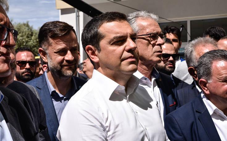 Πολίτης στη Λευκάδα φώναξε στον Τσίπρα «γήπεδο στην Πανάθα»