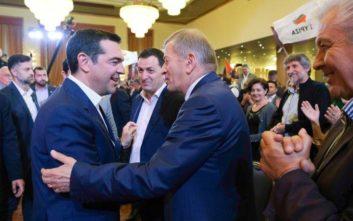 Αλέξης Τσίπρας: Συνάντηση με εκπροσώπους της ελληνικής μειονότητας στην Αλβανία