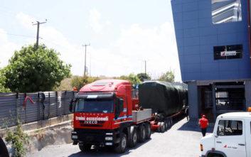 Μετρό Θεσσαλονίκης: Έφτασαν τα βαγόνια του πρώτου συρμού από την Ιταλία