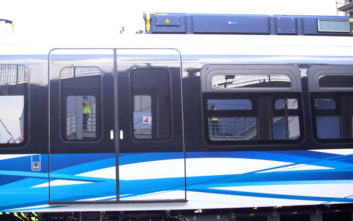 Στο αμαξοστάσιο της Πυλαίας ο δεύτερος συρμός του Μετρό Θεσσαλονίκης