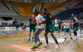 Basket League: Αντί ντέρμπι ο Παναθηναϊκός έκανε προπόνηση σε άδειο ΟΑΚΑ