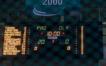 Basket League: Οριστικά 20-0 στο ντέρμπι και υποβιβασμός του Ολυμπιακού