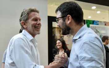 Δημοτικές Εκλογές 2019: Συνάντηση Γερουλάνου - Ηλιόπουλου