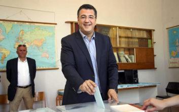 Εκλογές 2019: Στον Δήμο Δέλτα ψήφισε ο Απόστολος Τζιτζικώστας για την Περιφέρεια Κεντρικής Μακεδονίας