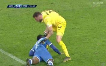 Σόκαρε η κατάρρευση παίκτη στη Ρουμανία