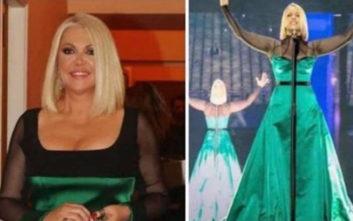 Eurovision 2019: Η ομοιότητα της Ρούλας Κορομηλά με την τραγουδίστρια των Σκοπίων