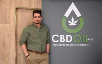 Ο επιχειρηματίας που «σάρωσε» την εγχώρια αγορά CBD