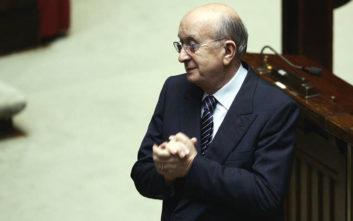 Ο 91χρονος πρώην πρωθυπουργός που εξελέγη δήμαρχος στην Ιταλία