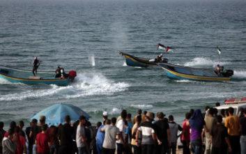 Στα 12 ναυτικά μίλια και πάλι η ζώνη αλιείας στη Λωρίδα της Γάζας