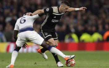Champions League: Άγιαξ και Τότεναμ για μια θέση στον τελικό