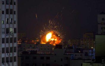 Βίντεο από τη στιγμή του βομβαρδισμού του πρακτορείου Anadolu στη Γάζα
