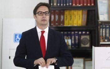 Προβάδισμα για Πεντάροφσκι στον δεύτερο γύρο των προεδρικών εκλογών στα Σκόπια