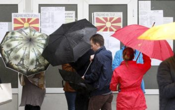 Ολοκληρώθηκε η ψηφοφορία για τον δεύτερο γύρο των προεδρικών εκλογών στα Σκόπια