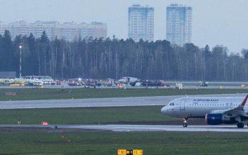 Ρωσία: Τραγωδία με 13 νεκρούς από φωτιά σε αεροπλάνο