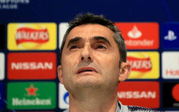 Champions League: «Στριμωγμένος» ο Βαλβέρδε μετά τον αποκλεισμό της Μπαρτσελόνα