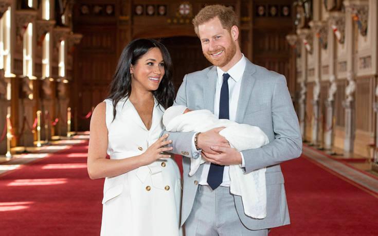 Μέγκαν Μαρκλ - Πρίγκιπας Χάρι: Το νέο βασιλικό βρέφος και οι διάσημοι Άρτσι