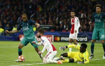 Champions League: Το σποτ περηφάνιας του Άγιαξ παρά τον πικρό αποκλεισμό