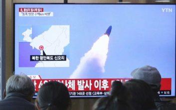 Η Βόρεια Κορέα προκαλεί και πάλι: Εκτόξευσε αγνώστου τύπου βλήματα