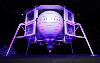 Τζεφ Μπέζος: Με αυτό το όχημα θέλει να στείλει ανθρώπους στο φεγγάρι
