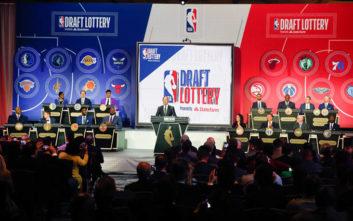 NBA: Αυτή είναι η σειρά με την οποία οι ομάδες επιλέγουν στα draft