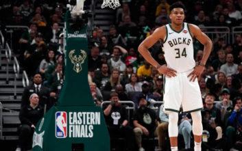 NBA: «Λύγισαν» οι Μπακς κόντρα στους Ράπτορς