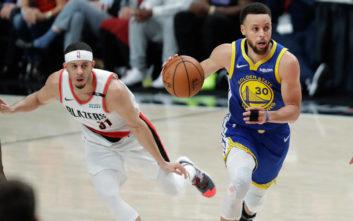NBA: Με «υπογραφή» Κάρι «σφραγίζουν» το εισιτήριο για τους τελικούς οι Γουόριορς