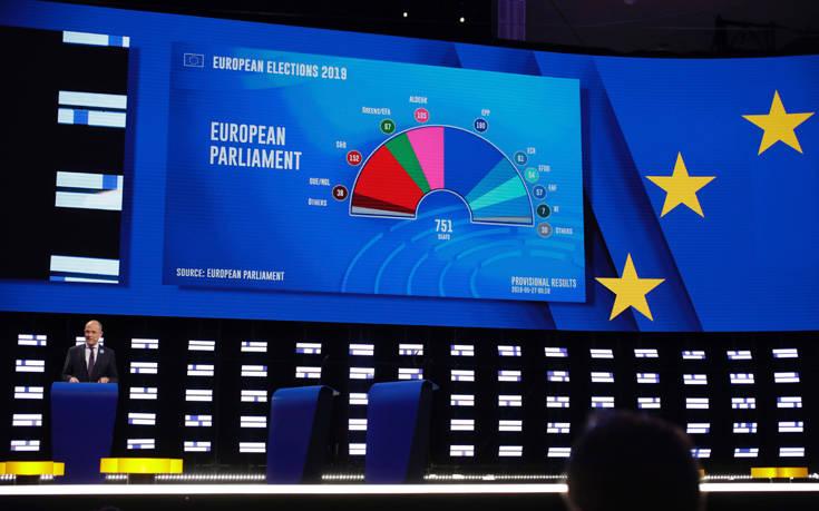 Ευρωεκλογές 2019: Νέα εκτίμηση του Ευρωκοινοβουλίου για την κατανομή των εδρών