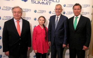 Γκρέτα Τούνμπεργκ και Άρνολντ Σβαρτσενέγκερ ενώνουν τη φωνή τους για το κλίμα