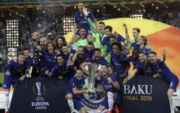 Με σούπερ Αζάρ η Τσέλσι κατέκτησε το Europa League