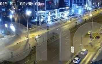 Βίντεο ντοκουμέντο από τη στιγμή του τροχαίου δυστυχήματος του Πάνου Ζάρλα
