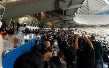 Τελικός Κυπέλλου: Ένταση στο ΟΑΚΑ μεταξύ οπαδών και αστυνομίας