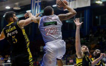 Basket League: Ισοφάρισε τη σειρά με ΑΕΚ ο Χολαργός