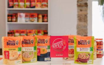Πέντε νέα συναρπαστικά προϊόντα ρυζιού Uncle Ben's®