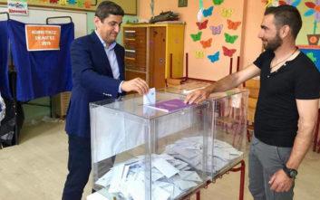 Εκλογές 2019: Στην ιδιαίτερη πατρίδα του το Ηράκλειο ψήφισε ο Λευτέρης Αυγενάκης