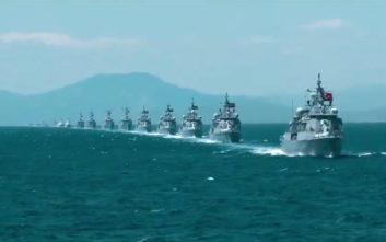 Αρμάδα 131 πλοίων «βγάζει» η Τουρκία σε Αιγαίο και Μεσόγειο