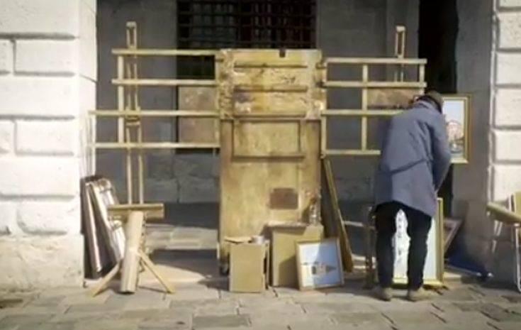 Ο Banksy έστησε πάγκο στη Βενετία