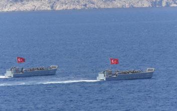 Η «συνάντηση» του ελληνικού και του τουρκικού Πολεμικού Ναυτικού στο Καστελόριζο